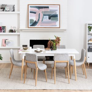 Groove Rectangular Dining Table